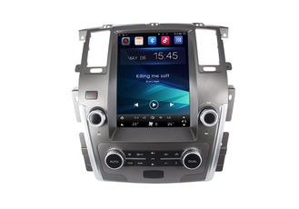 China Nissan Patrol GPS Navigation System With 12.1 Inch Tesla Display Screen / Bluetooth supplier