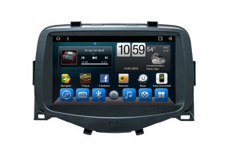 Multimedia Car Navigation System , Android 8.1 Radio Head Unit For Toyota Aygo