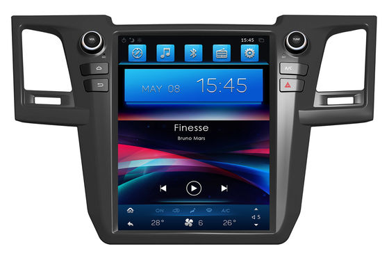 China 12.1 Inch Android Car Head Unit Toyota Dvd Navigation System For Toyota Fortuner Hilux supplier