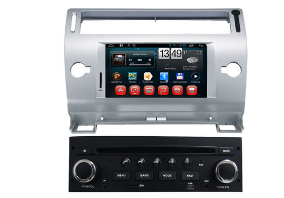 China Auto 8GB Car Raido Citroen DVD Player / Navigation System in Italian , 1024 x 600 pixels Screen supplier