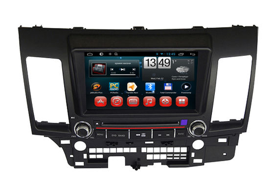 China Multimedia Mitsubishi Lancer EX Android 4.2 Navigator Car DVD Player with Bluetooth supplier