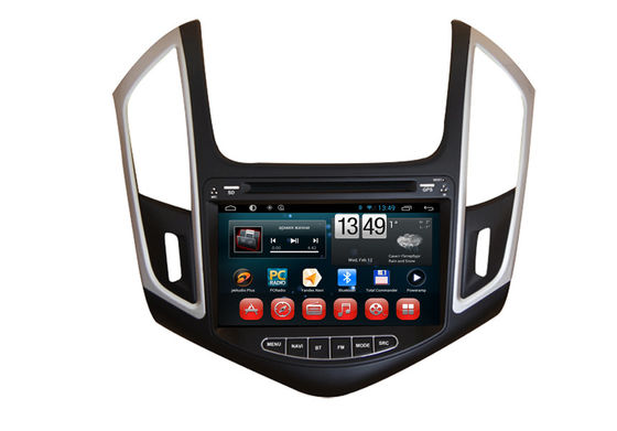 China Android Wifi 3G Chevrolet GPS Navigation Car DVD Radio Stereo GPS TV BT SWC For 2014 Cruze supplier