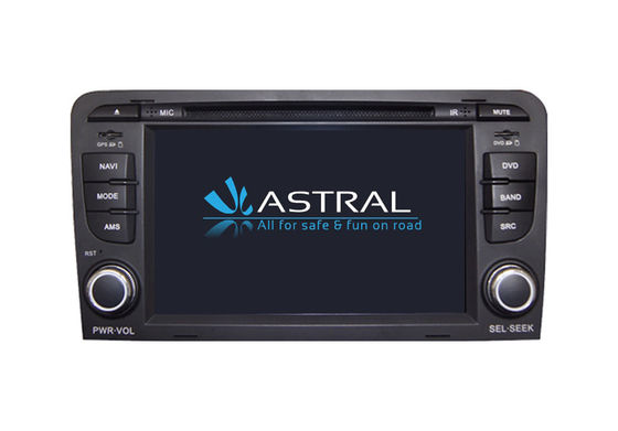 Wince Central Multimedia GPS AUDI A3 Bluetooth Hand Free RDS Hebrew Radio DVD Player