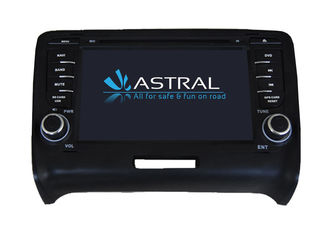 Dual Zone Central Multimidia GPS AUDI TT Navigation iPod DVD Player with Radio USB SD