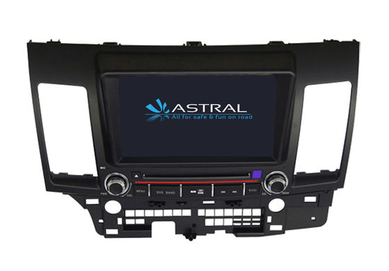 China Double Din In Dash GPS Lancer EX MITSUBISHI Navigator Bluetooth TV SWC Rockford Fosgate supplier