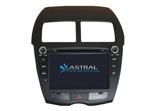 China In dash receiver Car DVD MITSUBISHI ASX Montero Car Stereo with Steering Wheel Control supplier