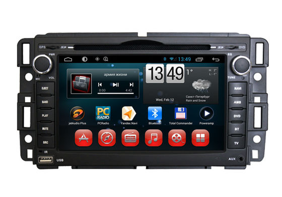 China Android Tahoe GMC Car Multimedia Navigation GPS System DVD Player Radio Dual Zone iPod TV Wifi supplier