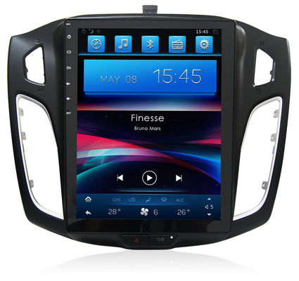 China Radio Infotainment Multimedia Player Gps Navigation System Ford Focus 2012-2015 Android Tesla Car supplier