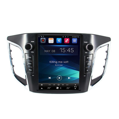 Android Hyundai Gps Navigation System 9.0'' Creta Ix25 4G SIM DSP SWC Mirror Link Easy Connect