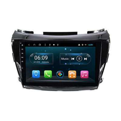 10.1-Inch Nissan Murano Android Autoradio Bluetooth Multimedia with GPS Navigation Carplay 4G SIM DSP SWC