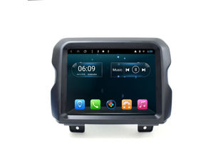 China Bluetooth Car Multimedia Navigation System Android Double Din Jeep Wrangler 2019 supplier