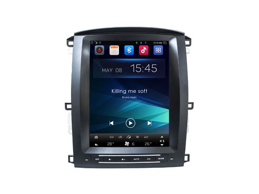 Vertical Screen Android Car Navigation Lexus LX470 2005-2007 Toyota LC100 Radio