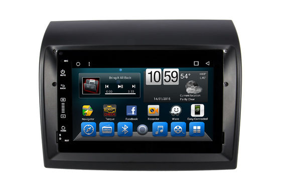 Citroen Jumper Double Din DVD Player Android 9.0 / 10.0 In Car Audio Video System