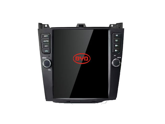 China Tesla Screen BYD G6 Radio GPS Navigation Central Multimidia Recevier Music System supplier