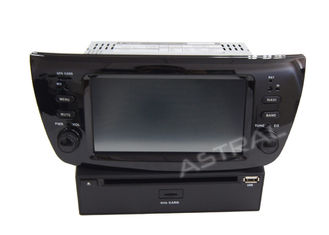 China Car Central Multmedia FIAT Navigation System Bluetooth TV Touch Screen iPod supplier