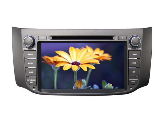 Wince CE6.0 Car GPS Navigation System Nissan Sylphy Bluebird DVD Player