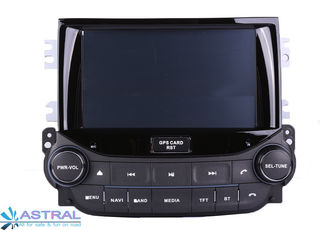 China Double Din Chevrolet GPS Navigation / Car DVD Players Malibu 2013 GPS Radio supplier
