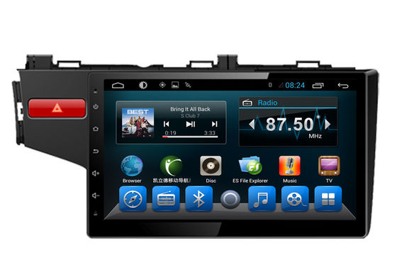 "China 10.1"" Big Screen Car Stereo Honda Navi System for Fit 2014 supplier"