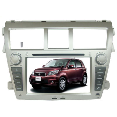 China Double din TOYOTA GPS Navigation car dvd player gps sat nav Yaris Sedan supplier