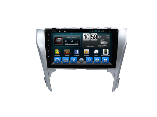 China 10 Inch Toyota Camry Android Car GPS Navigation , Radio Audio Stereo Bluetooth Tv Swc supplier