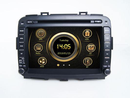 China Doble Din KIA DVD Player Multimedia Bluetooth Wince for Carens supplier