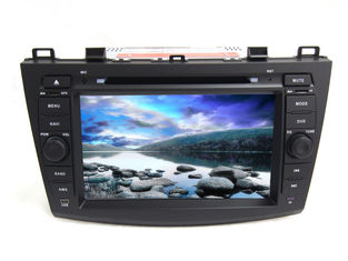 China Car android 4.4 radio central multimedia dvd player gps audio stereo for mazda 3 supplier