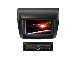China Double din car dvd player with screen radio gps for mitsubishi l200 triton supplier