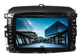 China Car radio in car audio gps dvd navigation system with screen sat nav for fiat 500 supplier