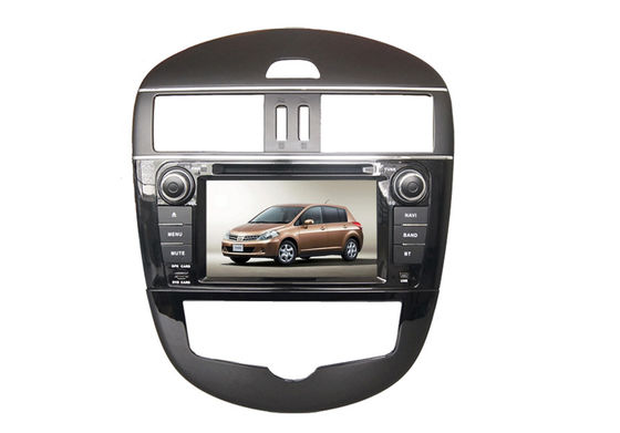 China Double din car dvd player with radio wifi touchscreen for nissan tidda supplier