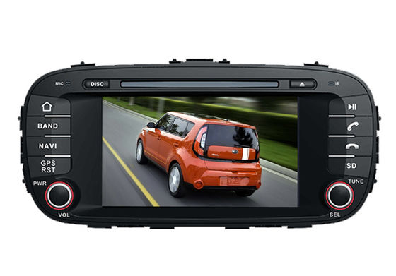 China KIA DVD Player gps navigation system with wifi bluetooth sat nav for kia soul supplier