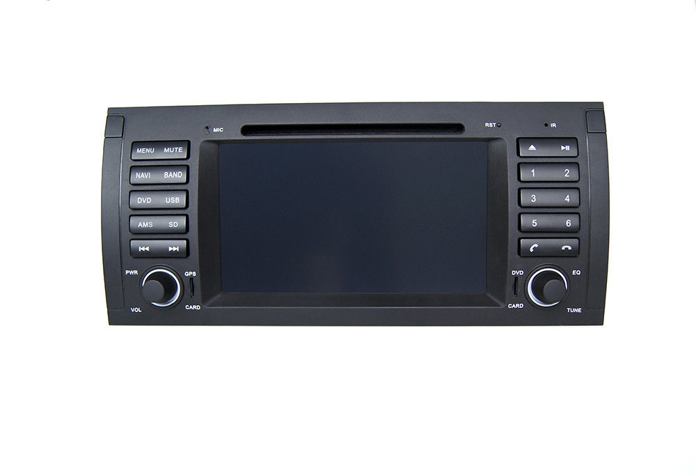 7 inch touch screen central stereo radio car navigation systems in dash for bmw e39 car. Black Bedroom Furniture Sets. Home Design Ideas