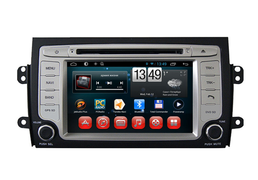 Android Car Stereo Bluetooth Receiver Suzuki Radio navigation system SX4 2006 2011