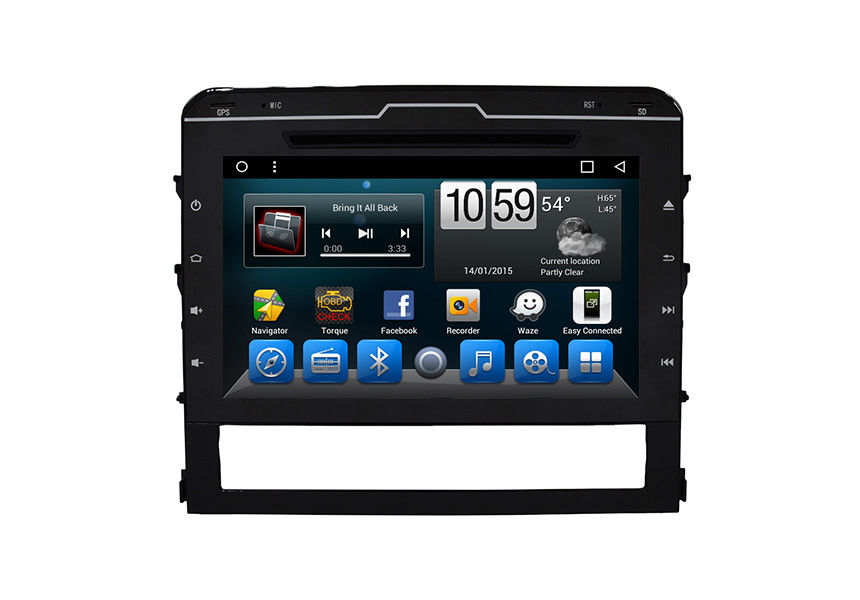 Touch Screen Car Dvd Player Toyota Dvd Gps Navigation System Land Cruiser 2015-2017