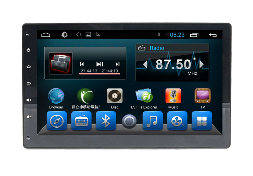 Dual Zone GPS Navigation System 10.1 Inch Full Touch Support 32G SD Card