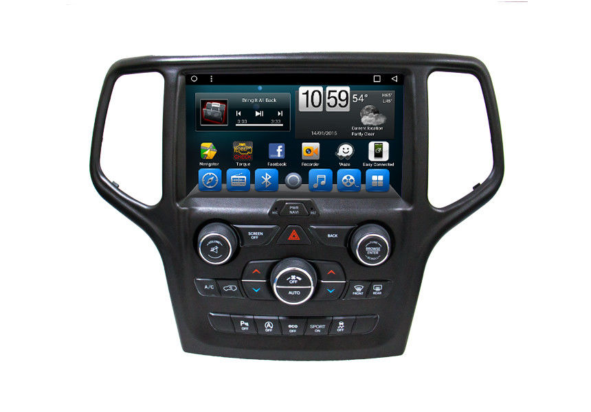 Auto Car GPS Navigation System 9 Inch Smart Touch Screen For Jeep Grand Cherokee