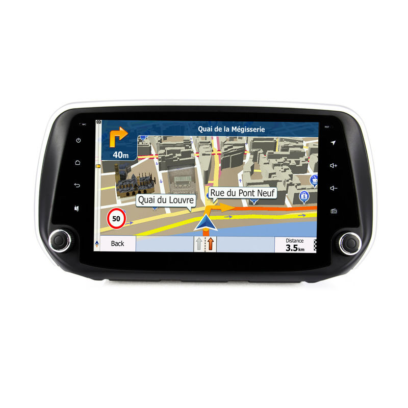 9'' Full Hd Touch Hd Screen Hyundai Verna Navigation System Android 7.1/8.1 Support Carplay Mirror Link