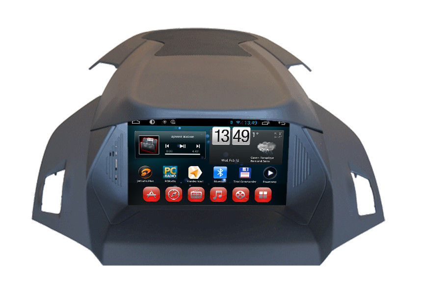 Russian Ford DVD Navigation System Android 4.1 SYNC Kuga 2014 Europe Car GPS Dual Zone