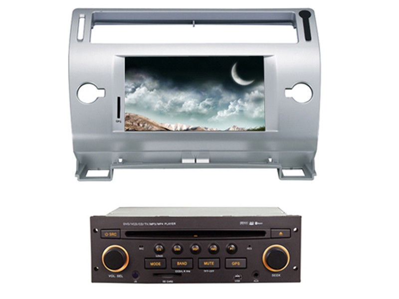 2 din car dvd player with bluetooth wifi gps citroen c4 old c