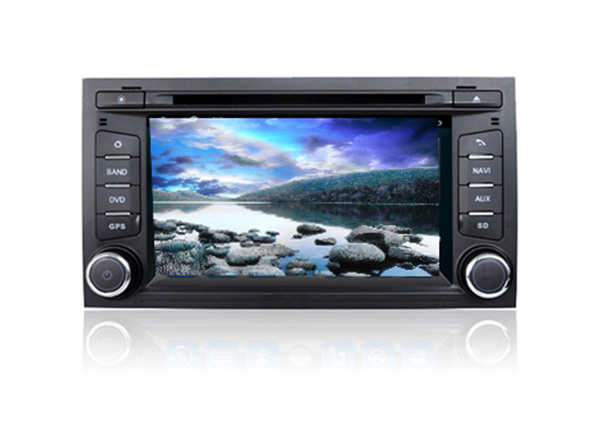 2 Din Car DVD Volkswagen GPS Navigation System Quad Core Android For Seat Leon