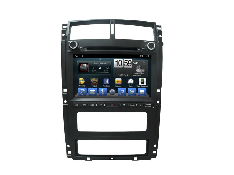 Peugeot 405 Car Dashboard GPS Navigation System With Android Quad Core 6.0.1 System