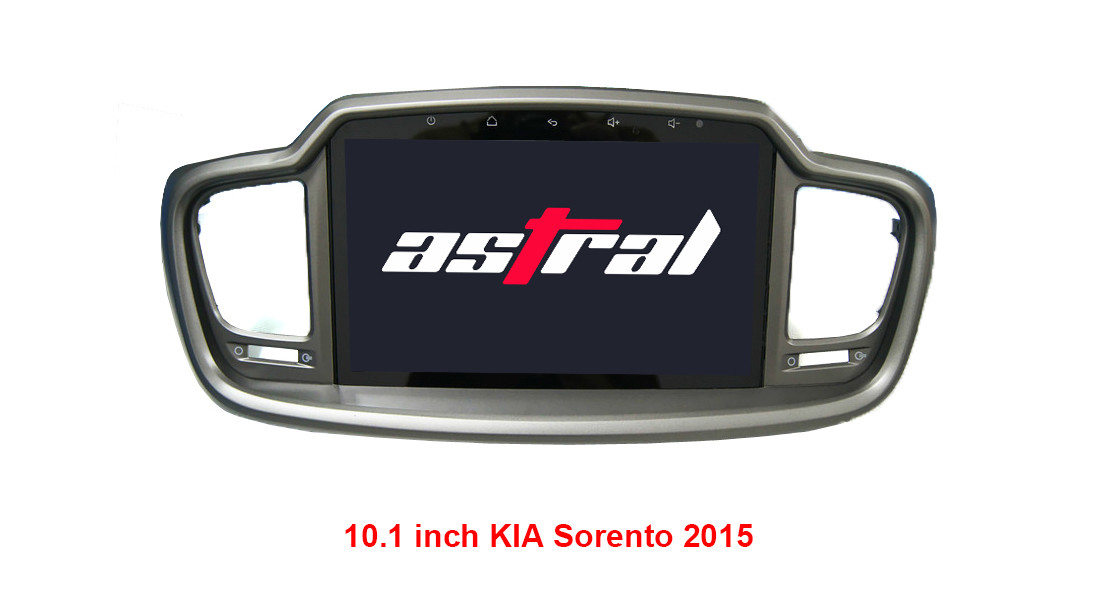 Android 4.4/6.0 KIA DVD Player 1080P HD Video Built In GPS Navigation / Bluetooth
