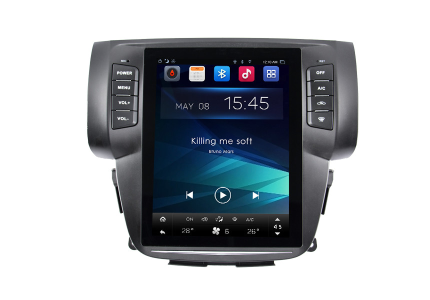 Android Auto Radio Car Navigation System Support Rear View Camera / HD Video