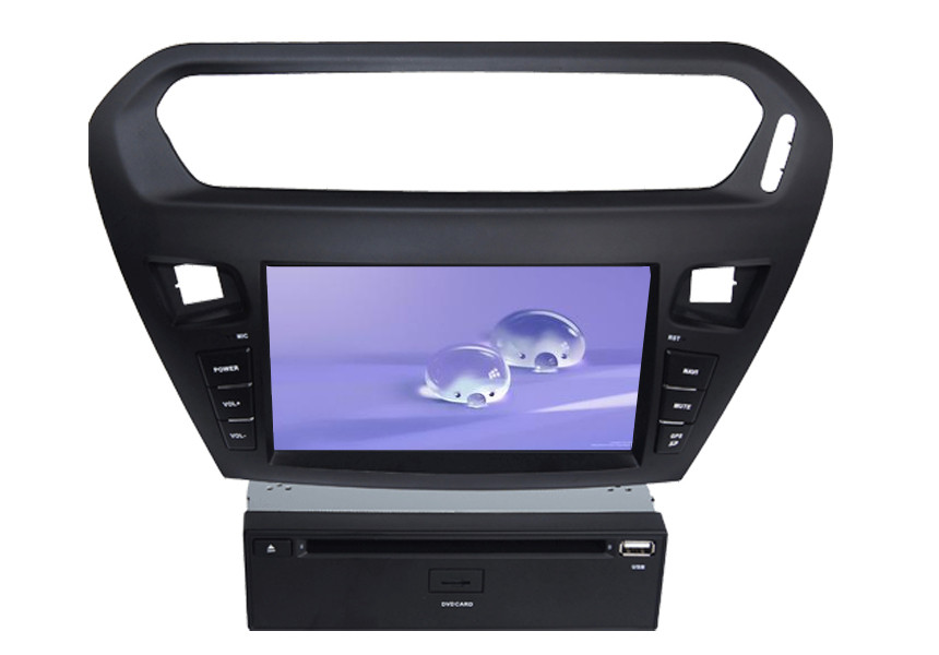 Car GPS Radio Citroen DVD Player for Elysee Support Steering Wheel Control