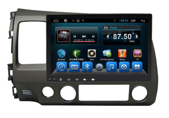 Double Din Radio Car PC Bluetooth Dvd Player Civic 2006-2011 Big Screen
