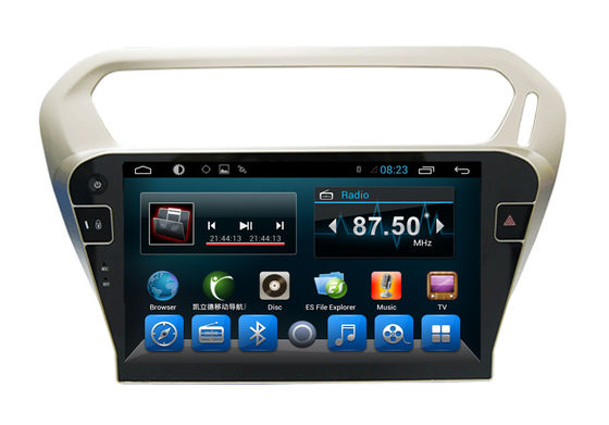 Quad Core Car Dvd Player Peugeot Navigation System 301 Kitkat Systems