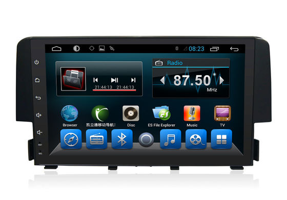 2Din Quad Core Honda Civic Navigation System With 3G Radio Wifi