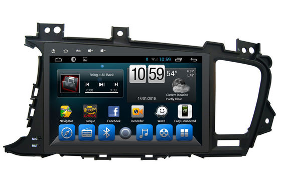 OBD Android 6.0 Bluetooth And Navigation Car Stereo System KIA K5 Aoltima