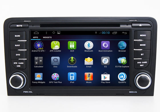 China Integrated Navigation System , Audi Car DVD Player GPS A3 S3 RS3 2005-2012 factory