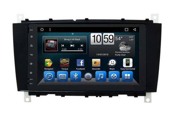 Android Mercedes Benz C - Class Double Din Car Dvd Player GPS Navigation Head Unit