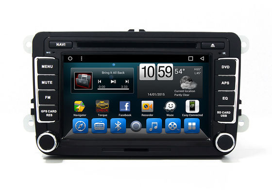 China Magotan Dvd Player Automotive VOLKSWAGEN GPS Navigation System Bluetooth TV factory